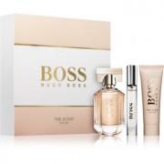 Hugo Boss Boss The Scent lote de regalo II. leche corporal 50 ml + eau de parfum 50 ml + eau de parfum 7,4 ml