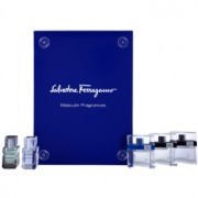 Salvatore Ferragamo Masculin Fragrances lote de regalo Pour Homme 5 ml, Free Time 5 ml, Black 5 ml, Attimo 5 ml, Attimo L'eau 5 ml eau de toilette 5 x 5 ml
