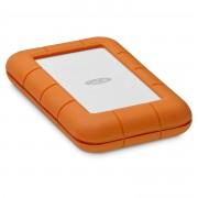 LaCie Rugged Secure Disco Rigido Esterno 2000Gb Arancione Bianco