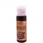 Gel Hot Comestível 15Ml Soft Love - Boutique Apimentada (Chocolate)