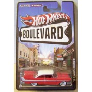 Hot Wheels Boulevard 58 Plymouth Belvedere Red/White Roof