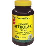 Nature's Plus Acerola C masticabile 500 mg - 90 compresse succhiabili