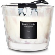 Baobab White Pearls lumânare parfumată 10 cm