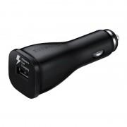USB Autós Töltő Samsung 222169 Micro USB Fekete
