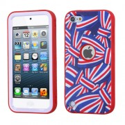 Funda Protector Triple Layer Apple Ipod Touch 5G / 6G Arcos Americanos Antiderrapante