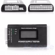LCD PC Computer 20/24 Pin 4 ATX PSU BTX ITX SATA HDD Voeding Tester-R179 Drop Verzending OOTDTY