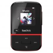 SanDisk Clip Sport Go MP3 16GB Preto/Vermelho