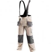 Pantaloni de lucru cu bretele, tip 6 in 1(scurt/lung/, 3/4,-pantalon normal sau cu bretele), marime XXL (58)