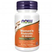 Now Foods Women's Probiotic (20 miliardów) 50 kapsułek