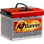 Baterie auto Banner Power Bull PROfessional 63AH 600A borna normala