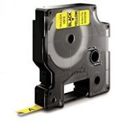 Dymo Standard D1 Tejp 6mm Svart på gult