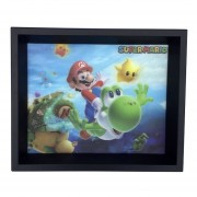 Cuadro Lenticular Mario Galaxy Nintendo Efecto 3d Decorativo