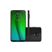 Smartphone Motorola Moto G7 64GB Dual Chip Android Pie - 9.0 Tela 6.24 1.8 GHz Octa-Core 4G Câmera 12 + 5MP (Dual Traseira) - Ônix