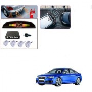 Auto Addict Car Silver Reverse Parking Sensor With LED Display For Audi RS 6