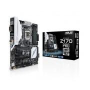 Tarjeta Madre ASUS ATX Z170-PRO, S-1151, Intel Z170, USB 2.0/3.0, 64GB DDR4, para Intel ― Requiere Actualización de BIOS para trabajar con Procesadores de 7ma Generación