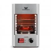 Klarstein Steakreaktor 2.0 – Stainless Steel Edition, beltéri grillsütő, 1600 W, 850 ° C (GQBF-Steakreaktor)