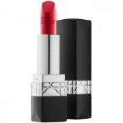 Dior Rouge Dior луксозно овлажняващо червило цвят 080 Red Smile 3,5 гр.