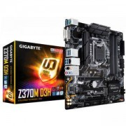 Дънна платка GIGABYTE Z370M D3H, Socket 1151 (300 Series), 4xDDR4, RGB Fusion, GA-MB-Z370M-D3H