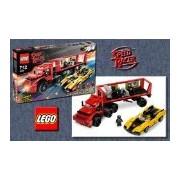 LEGO Racers: Cruncher Block and Racer X