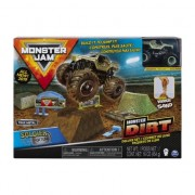 Auto Monster Jam Set cu nisip cinetic 6044986 Spin master