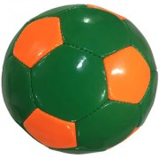 Dee Mannequin Green and Orange Football - Size 5 diameter 21cm (Pack of 1 Multicolour)