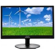 "Monitor TFT LED Philips 21.5"" 221S6LCB, Full HD (1920 x 1080), VGA, DVI, 5 ms, Pivot (Negru)"