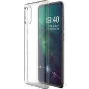 Teleplus Samsung Galaxy S20 Ultra Case Luxury Silicone Transparent hoesje