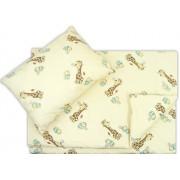 Lenjerie pat copii girafa