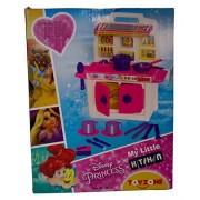 Toyzone Disney Princess My Little Kitchen Set - Pink Carton