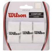 WILSON Profile Overgrip White 3PK