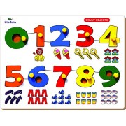 Little Genius Number Match Object 0 to 9 Puzzle