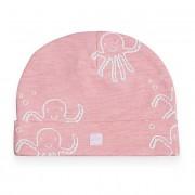 Jollein Muts Octopus Pink 6-12 mnd