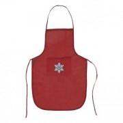 Förkläde med ficka Non-woven 144072 - Färg: Röd