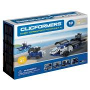 Set de construit Clicformers-Mini Transporter 30 piese