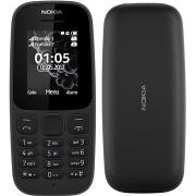 Nokia 105 (2017) Dual SIM, fekete