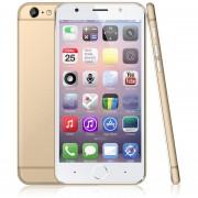 """EH 5.5"""" Smartphone MTK6580 ROM 8GB RAM 1GB Dual SIM Desbloqueado--Dorado"""