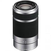 Sony 55-210mm F/4.5-6.3 OSS - ARGENTO - INNESTO E - 4 ANNI DI GARANZIA