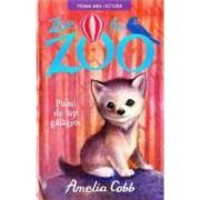 Zoe la zoo. Puiul de lup galagios - Amelia Cobb