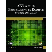 Microsoft Access 2016 Programming by Example: With VBA, XML, and ASP, Paperback