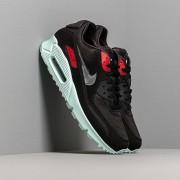 Nike Air Max 90 Premium Black/ Cool Grey-Teal Tint-University Red