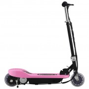 vidaXL Trotinete elétrica 120 W cor-de-rosa