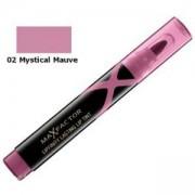 Червило за устни Max Factor Lipfinity Lasting Lip Tint, С дълготраен ефект, 02 Mystical Mauve, 96000113
