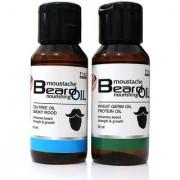 Combo Pack of Tea Tree and Wheat Germ Beard Oil