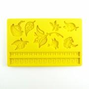 Forma silicon pentru martipan si fondante - floricele