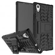 Capa Híbrida Antiderrapante para Sony Xperia XA1 - Preto