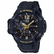 casio g-shock GA-1100GB-1A reloj maestro de la serie G-negro + oro