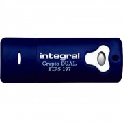 Stick USB 4GB Crypto 3.0 Albastru Integral