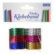 Geen Kado plakband metallic 6 stuks