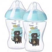 Комплект шишета за хранене Ultra - сини, 260 мл. Tommee Tippee, 2600030