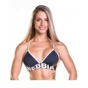 Fitness podprsenka 267 modrá - NEBBIA